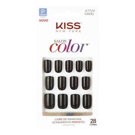Unhas Kiss Salon Color Chic KSC51BR