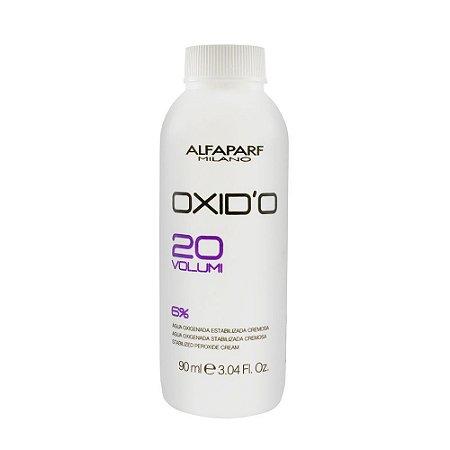 Agua Oxigenada Alfaparf 20 Volumes 90Ml