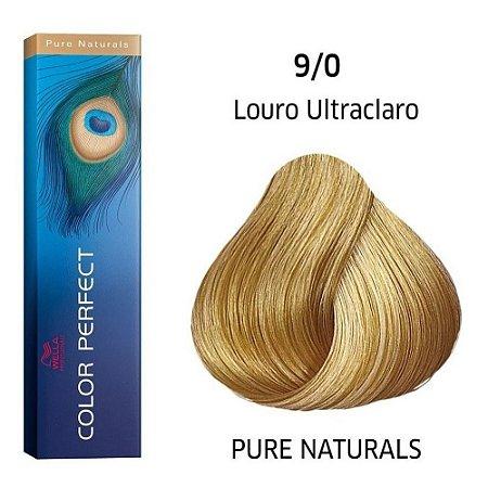 Coloração Wella Color Perfect 9/0 Louro Ultraclaro