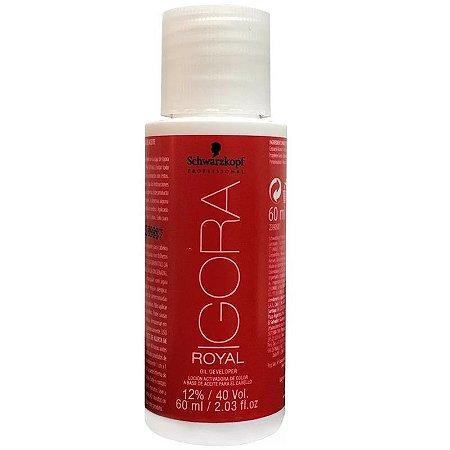 Agua Oxigenada Igora 40Vol 60Ml