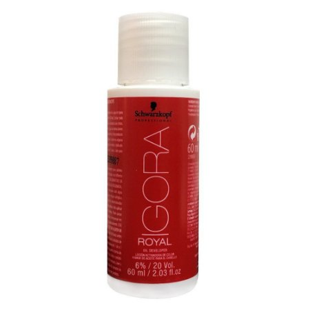 Agua Oxigenada Igora 20Vol 60Ml