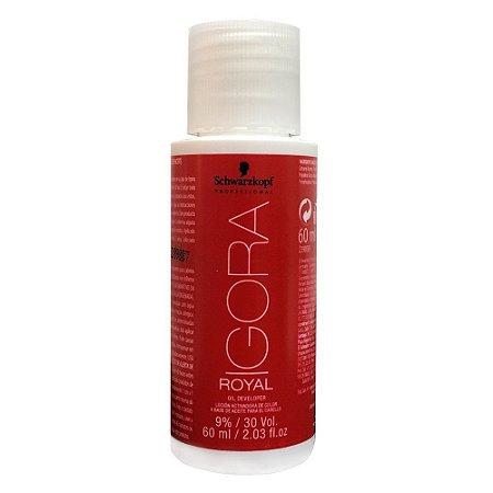 Agua Oxigenada Igora 30Vol 60Ml