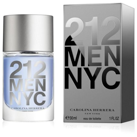 Perfume Carolina Herrera 212 Men Edt 30Ml