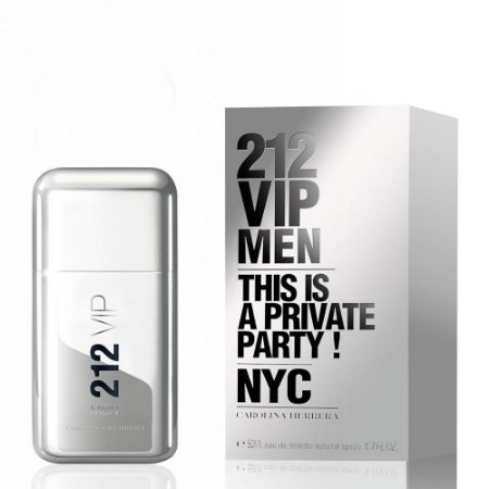 Perfume Carolina Herrera 212 Vip Men Edt 50Ml
