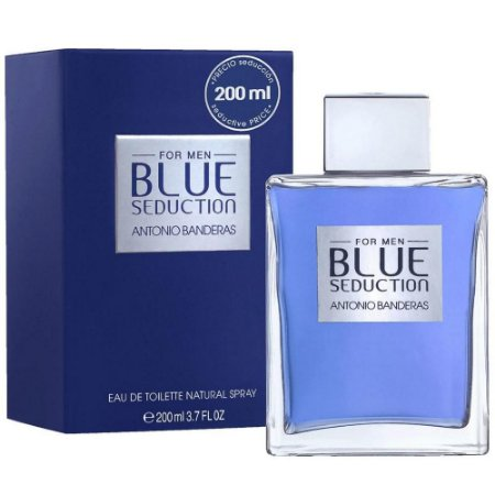 Perfume Antonio Banderas Blue Seduction Edt 200Ml