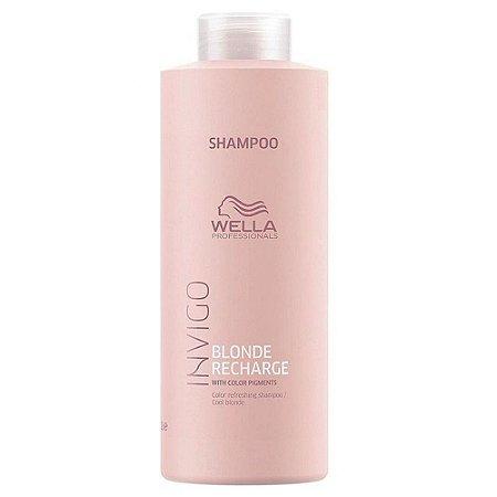 Shampoo Wella Invigo Blonde Recharge 1Litro