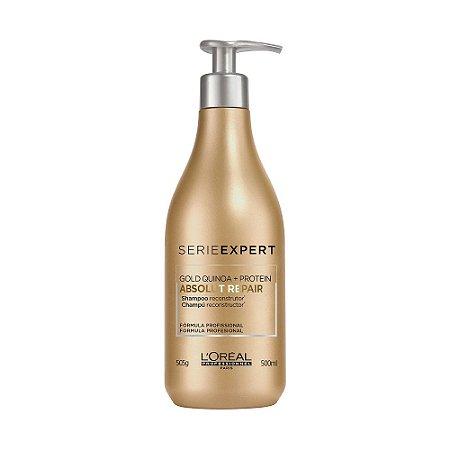 Shampoo Loreal Absolut Repair Gold Quinoa 500Ml