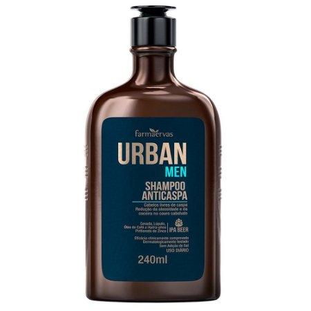 Shampoo Urban Men Anticaspa 240Ml