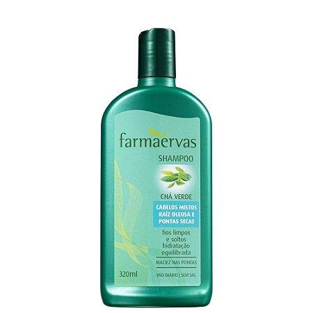 Shampoo Farmaervas Chá Verde 320Ml