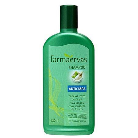 Shampoo Farmaervas Anticaspa 320Ml