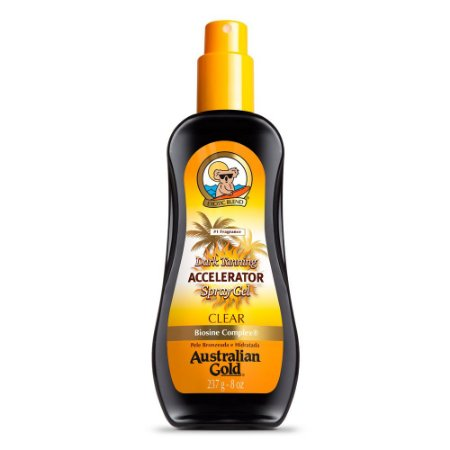 Acelerador Australian Gold Spray Clear Dark Tanning 237Ml