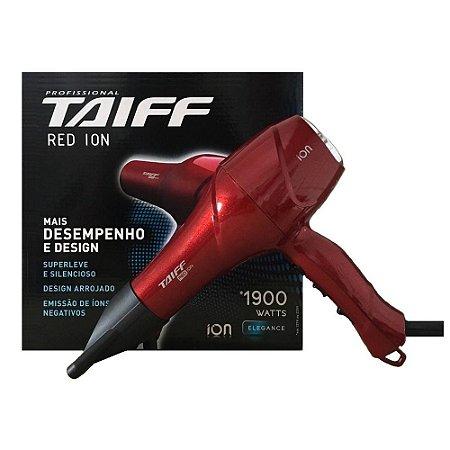 Secador Taiff Red Ion 1900W 127V