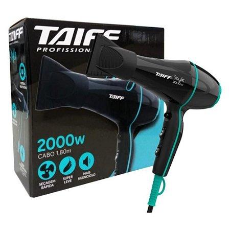 Secador Taiff Style Preto 2000W