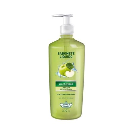 Sabonete Líquido Flores & Vegetais Maçã Verde 310Ml
