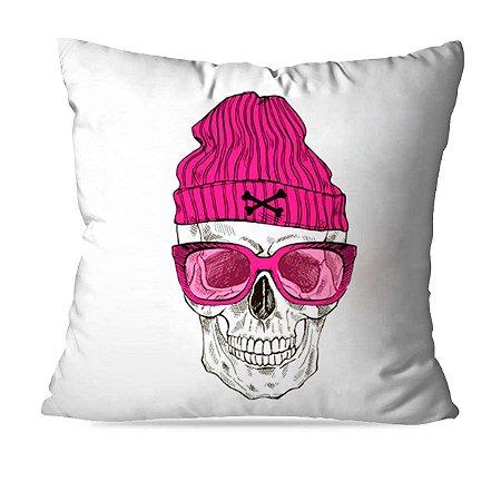 Almofada caveira pink