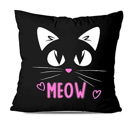 Almofada gatinho meow