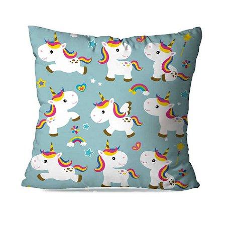 Almofada unicornios