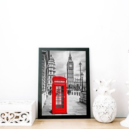 Quadro decorativo London