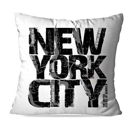 CAPA OU ALMOFADA NEW YORK CITY