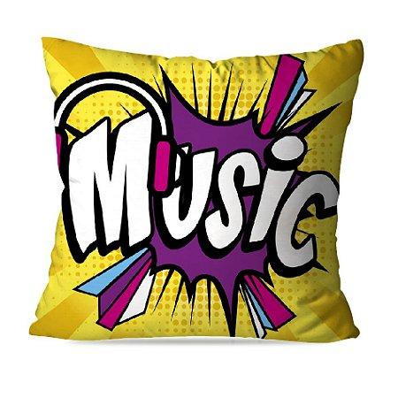 CAPA OU ALMOFADA MUSIC