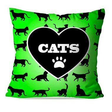 CAPA OU ALMOFADA CATS