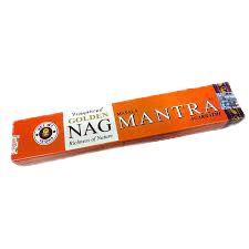 Incenso Golden Nag Mantra Massala