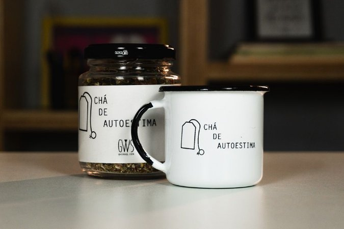 Kit: Canequinha + Blend Chá de Autoestima