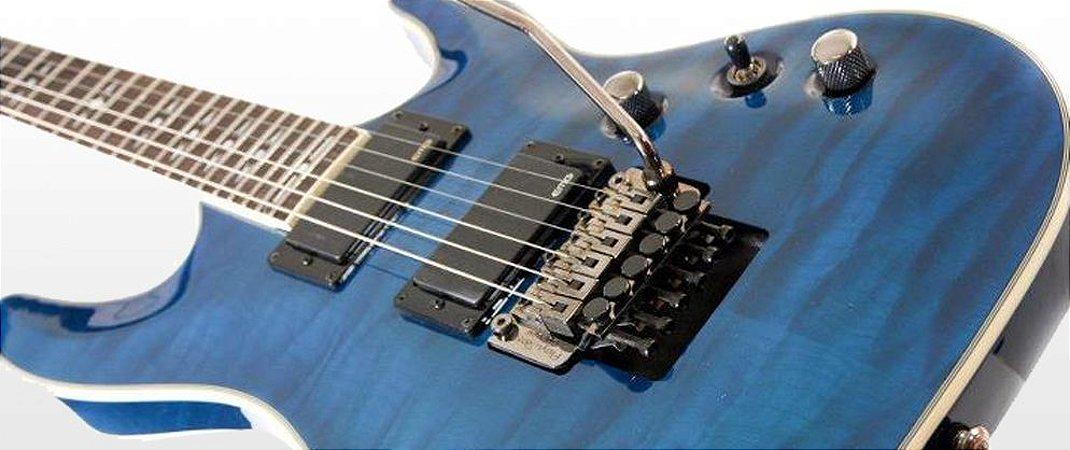 Guitarra Jay Turser JT690QFR com EMG®81/85 e FLOYD ROSE® Made in USA