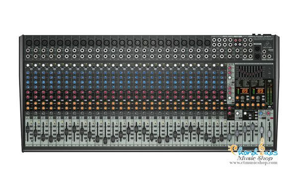 Mesa de Som 32 Canais SX3242FX c/ Efeito Eurodesk BEHRINGER