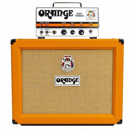Amplificador Orange Tinny Terror 15w + Caixa Orange Ppc112 Celestion Vintage 30 60w
