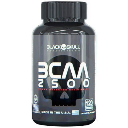 BCAA 2500 - Black Skull (120 caps)
