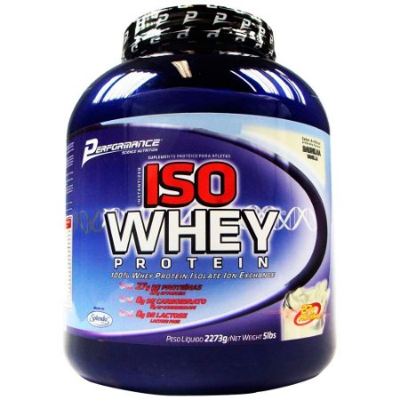 Iso Whey - Performance (909g / 2,3kg)