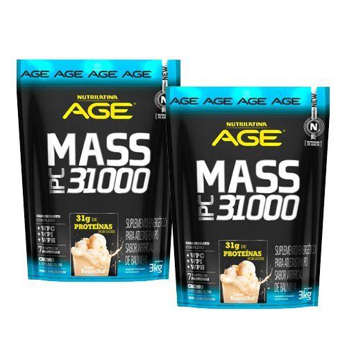 2 unidades Mass IPC 31000 - Nutrilatina AGE (3kg)