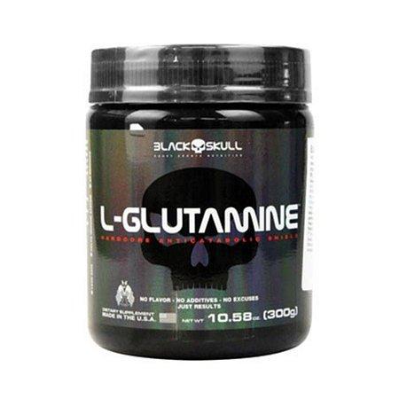L-Glutamina - Black Skull (300g / 600g / 900g)