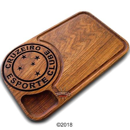 Tabua de carne em madeira, Cruzeiro