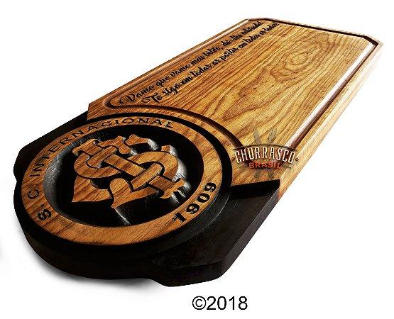 Tabua de carne em madeira, Internacional 67x30
