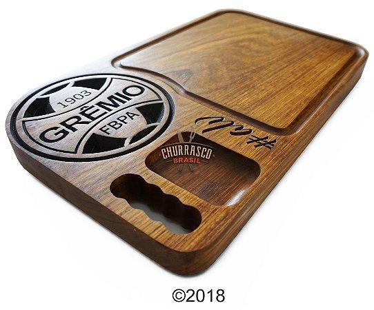 Tabua de carne em madeira, Grêmio