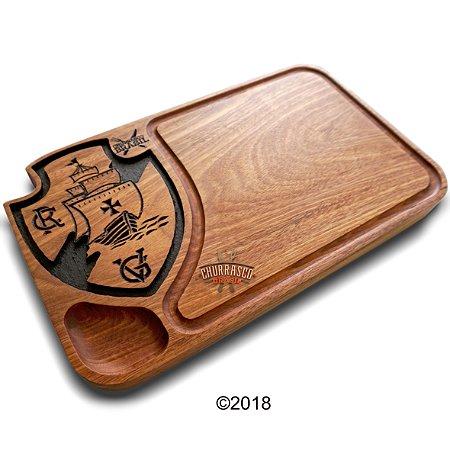 tabua de carne em madeira, Vasco