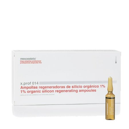 x. Prof 014 - Silicio Orgânico 1% - 20 x 5 ml - Mesoestetic