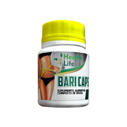 Baricaps Emagrecedor Tradicional Amarelo - composto de ervas - 30 capsulas