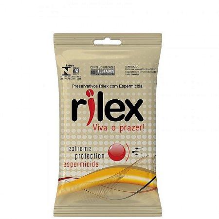 Preservativo com espermicida - Rilex