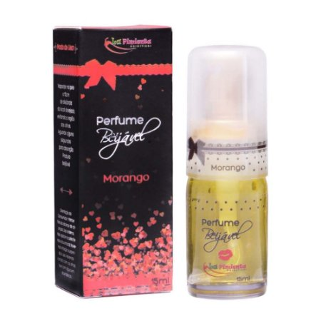 Perfumes Beijáveis 15ml Morango