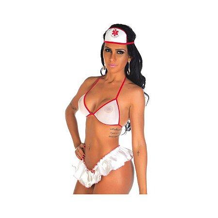 Kit Mini Fantasia Enfermeira
