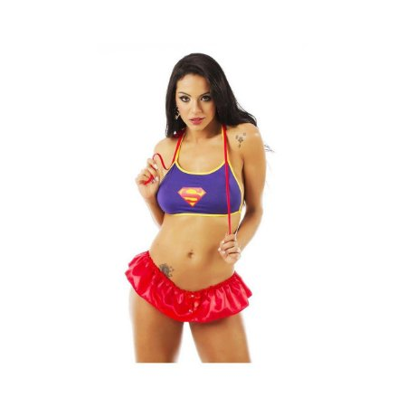 Kit Mini Fantasia Super Girl