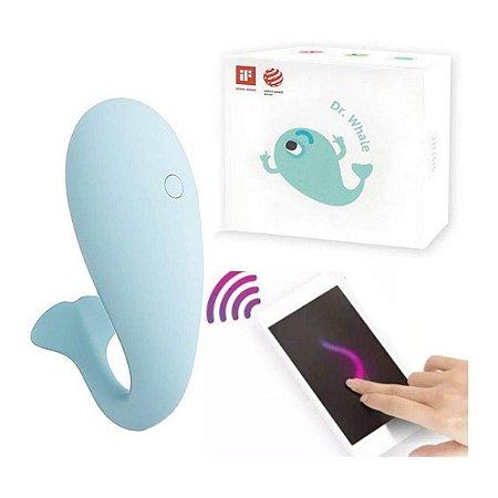 Vibrador por aplicativo de celular Dr Whale