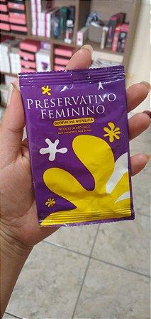 GRÁTIS - Preservativo Feminino - PARA VULVAS em Borracha Nitrílica