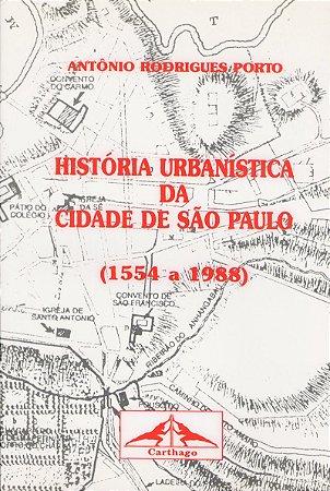 Livro História Urbanística da Cidade de São Paulo
