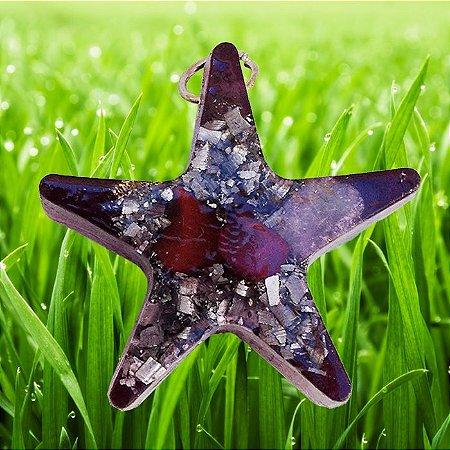 Mini estrela orgonite