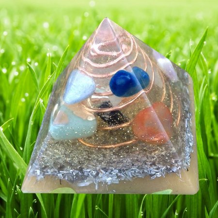 Piramide big flat orgonite