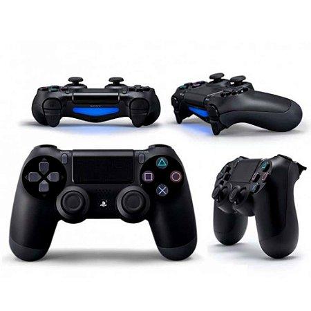 fba7243de Controle sem Fio - Dualshock 4 Preto - PS4 - VRPLAY - A sua loja ...